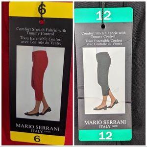 Mario Serrani Comfort Stretch CroppedPants